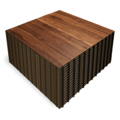 DARK MAPLE XXL  3x3 Panels