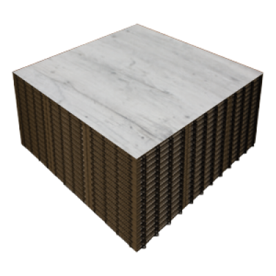 RUSTIC GREY WOOD 6x6 Panels